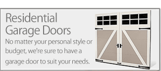Advanced Overhead Door is available for all of your residential garage door needs.
